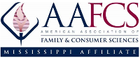 Home of Mississippi Association of Family and Consumer Sciences Logo